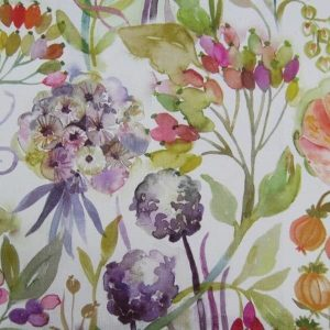Country FLorals Collection - Autumn Floral Cream