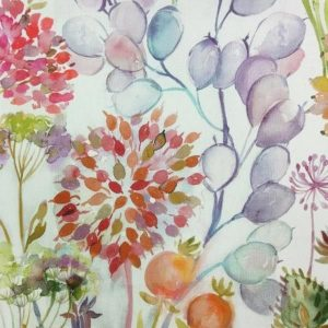 Country Florals Collection - Hedgerow Autumn Cream