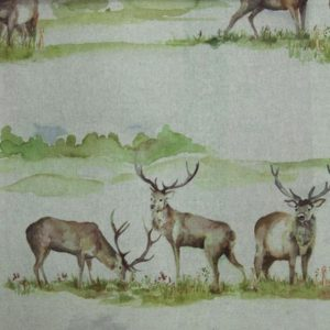 Country 3 Collection - Moorland Stag Linen