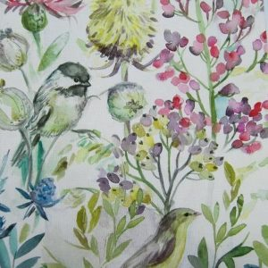 Country Florals Collection - Morning Chorus Cream