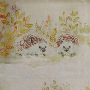 Country 3 Collection - Mr & Mrs Hedgehog Linen