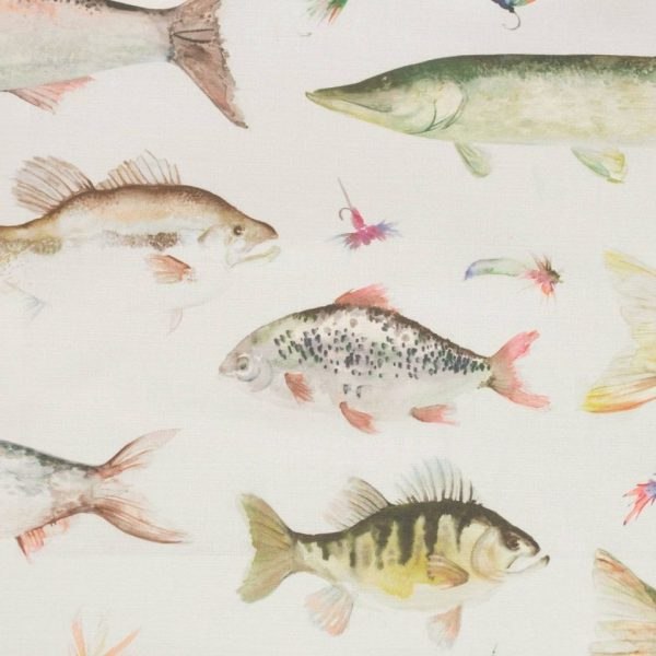 Country 1 Collection - River Fish Large Cream