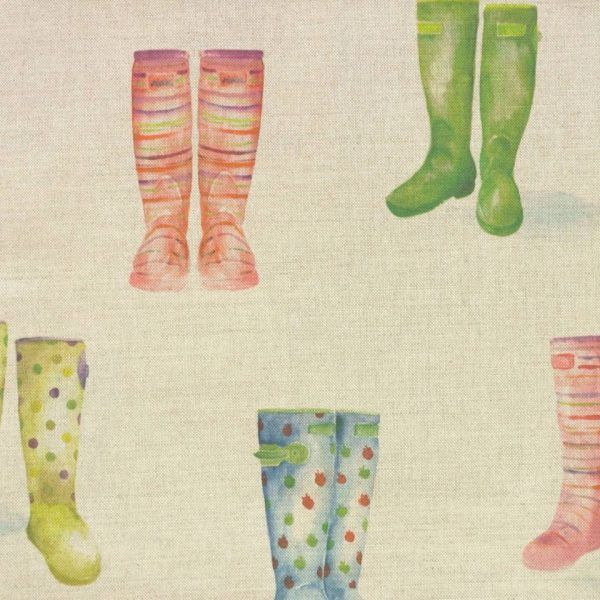 Country 1 Collection - Welly Boots Linen
