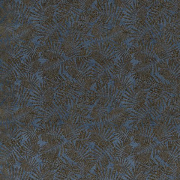 Lilaea Fabrics - Espinillo Velvet Indigo/Copper