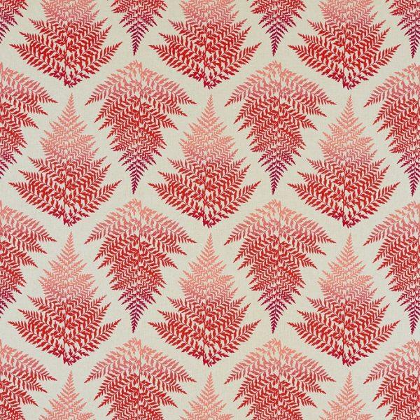 Lilaea Fabrics - Filix Fire/Watermelon