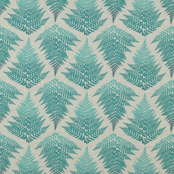 Lilaea Fabrics - Filix Ocean/Teal