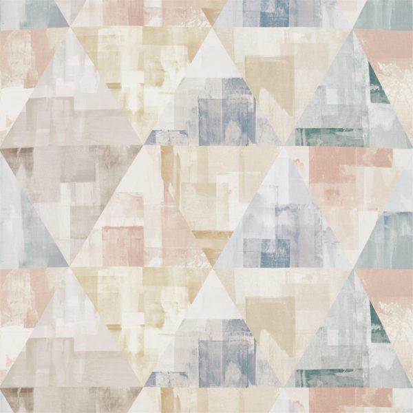 Entity Fabrics - Geodesic Blush/Taupe/Seaglass