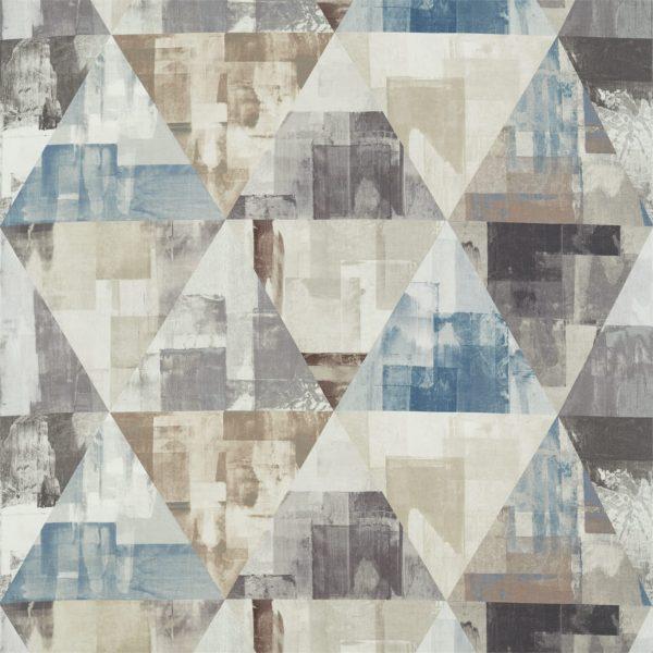 Entity Fabrics - Geodesic Kohl/Truffle/Moonstone