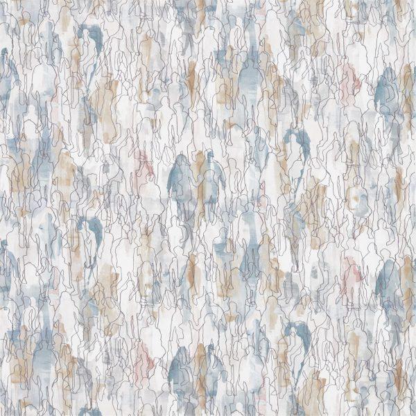 Entity Fabrics - Multitude Seaglass/Chalk