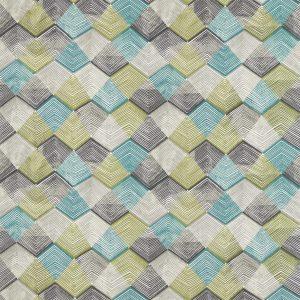 Entity Fabrics - Teal/Linden/Charcoal