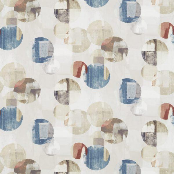 Entity Fabrics - Rondure Denim/Brick/Slate