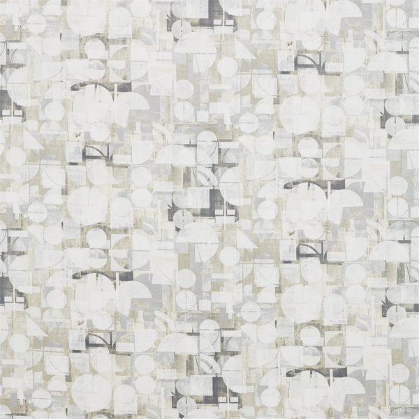 Entity Fabrics - Segments Slate/Chalk