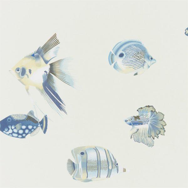 Anthozoa Wallpapers - Kamanu Indigo/Pebble