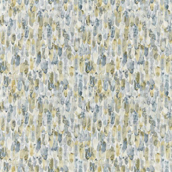 Anthozoa Wallpapers - Kelambu Graphite/Mustard