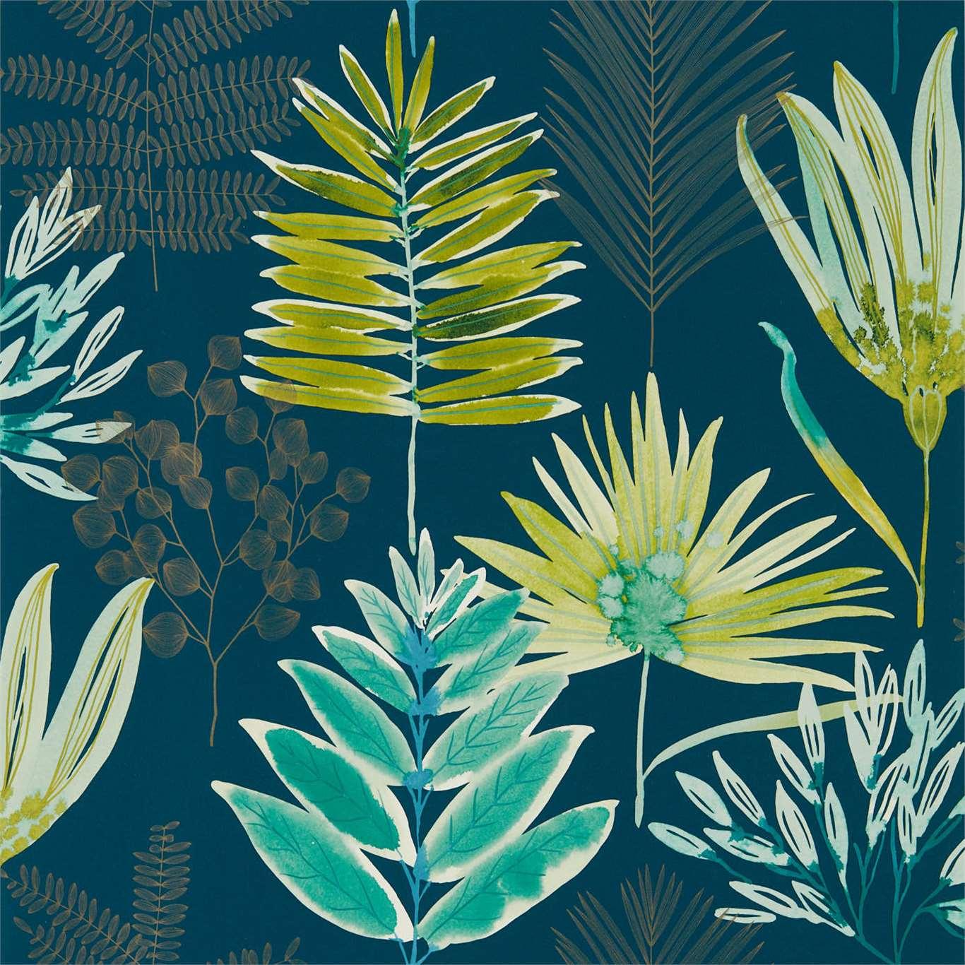 Yasuni Wallpaper Emerald Zest