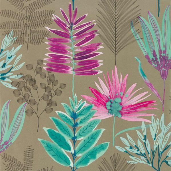 Zapara Wallpaper - Yasuni Wallpaper Lagoon/Cerise