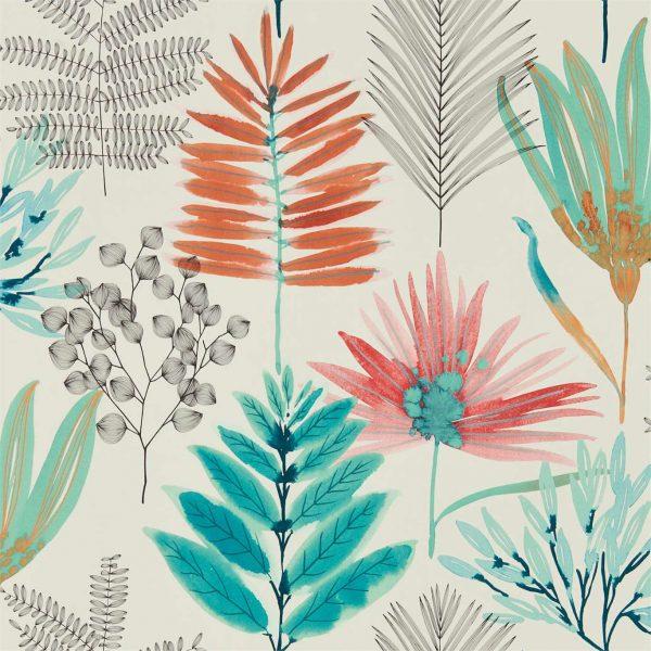 Zapara Wallpaper - Yasuni Wallpaper Paprika/Kiwi